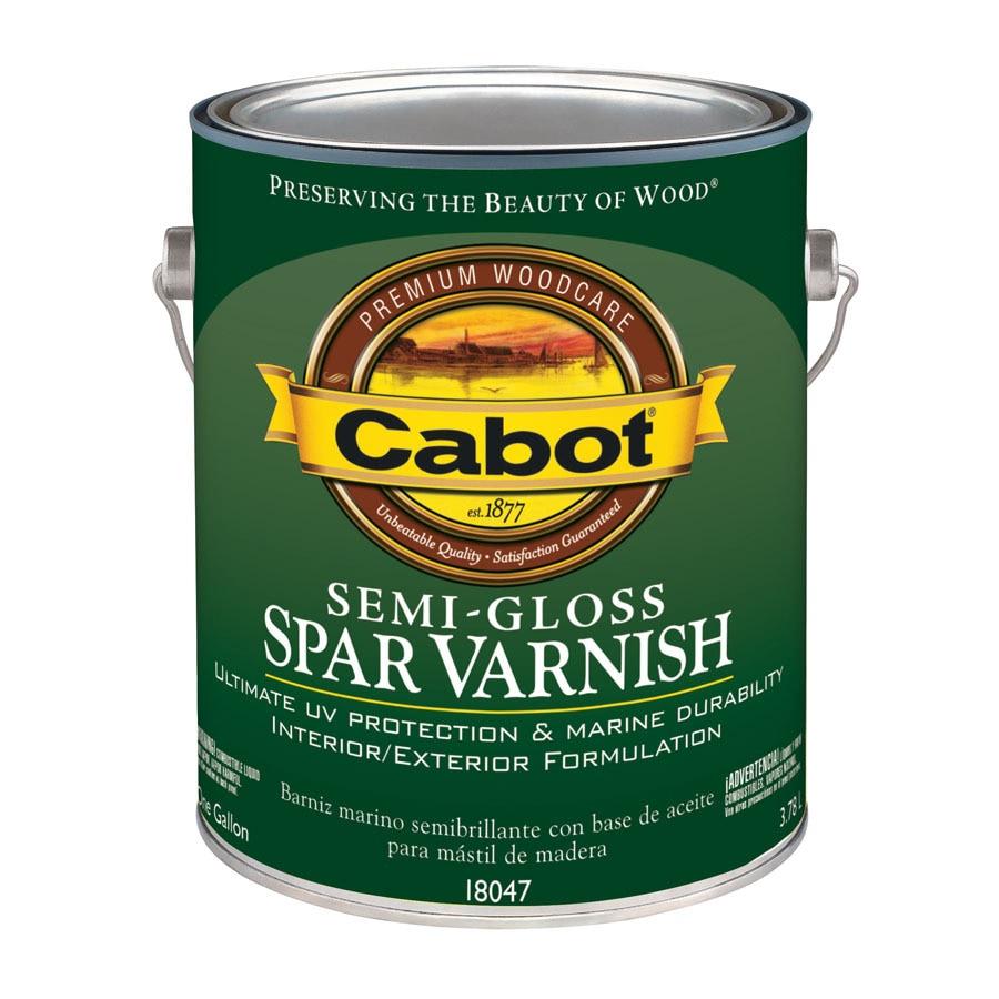 Cabot Semi-Gloss Oil-Based 128-fl oz Varnish