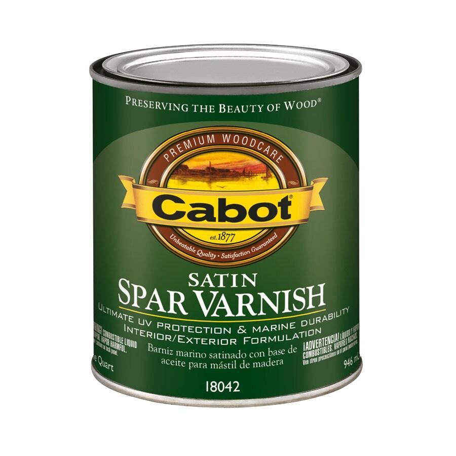 Cabot Satin Oil-Based 32-fl oz Varnish