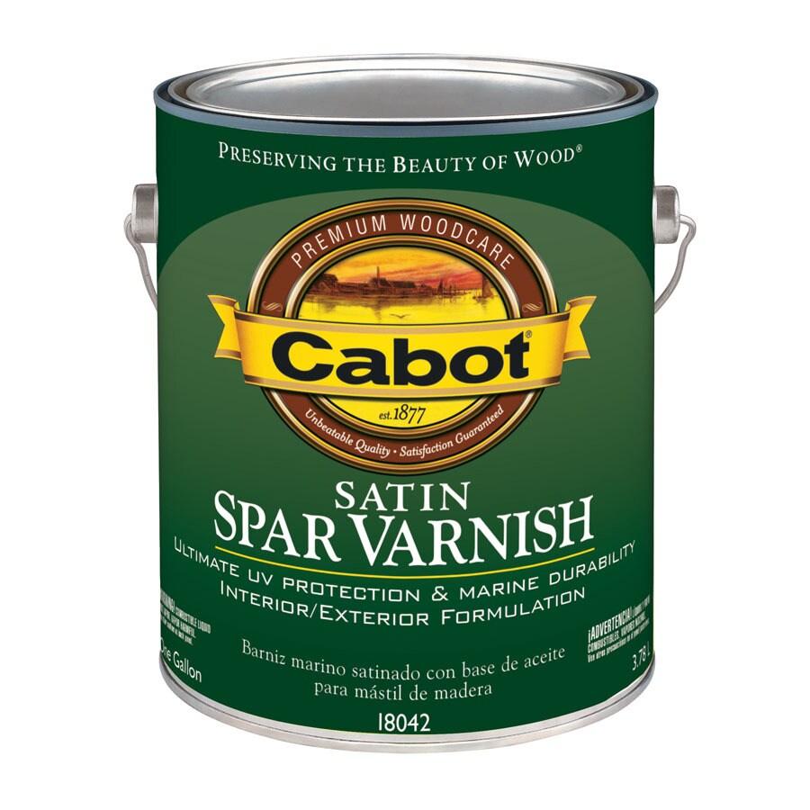 Cabot Satin Oil-Based 128-fl oz Varnish