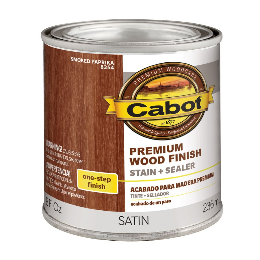 Cabot Smoked Paprika Interior Stain (Actual Net Contents: 8-fl oz)
