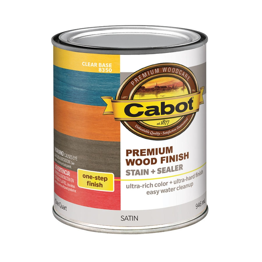 Cabot Tintable Clear Interior Stain (Actual Net Contents: 32-fl oz)