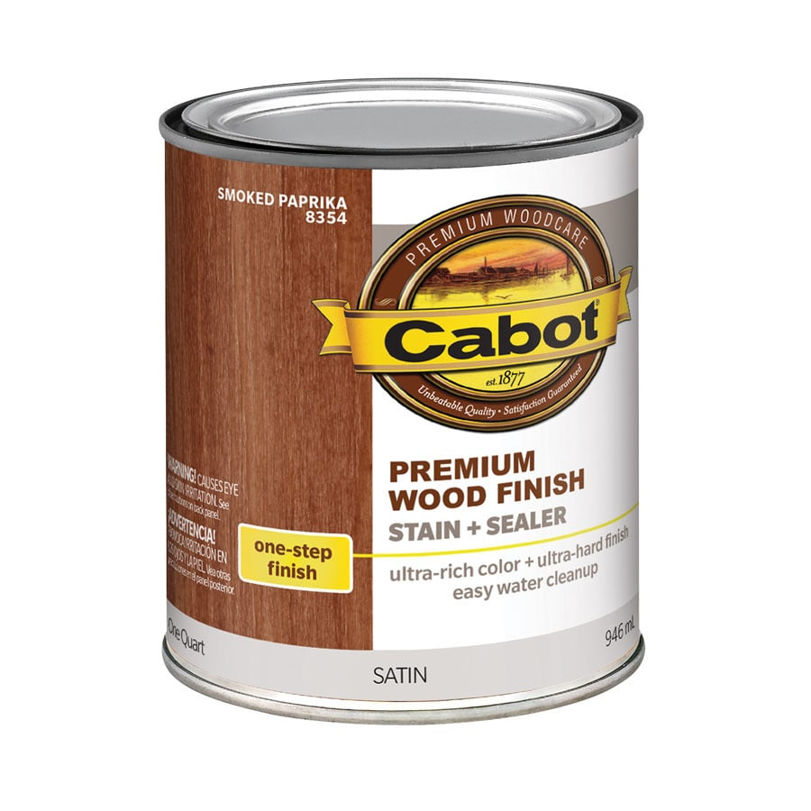 Shop Cabot Smoked Paprika Interior Stain Actual Net Contents 32 Fl Oz At