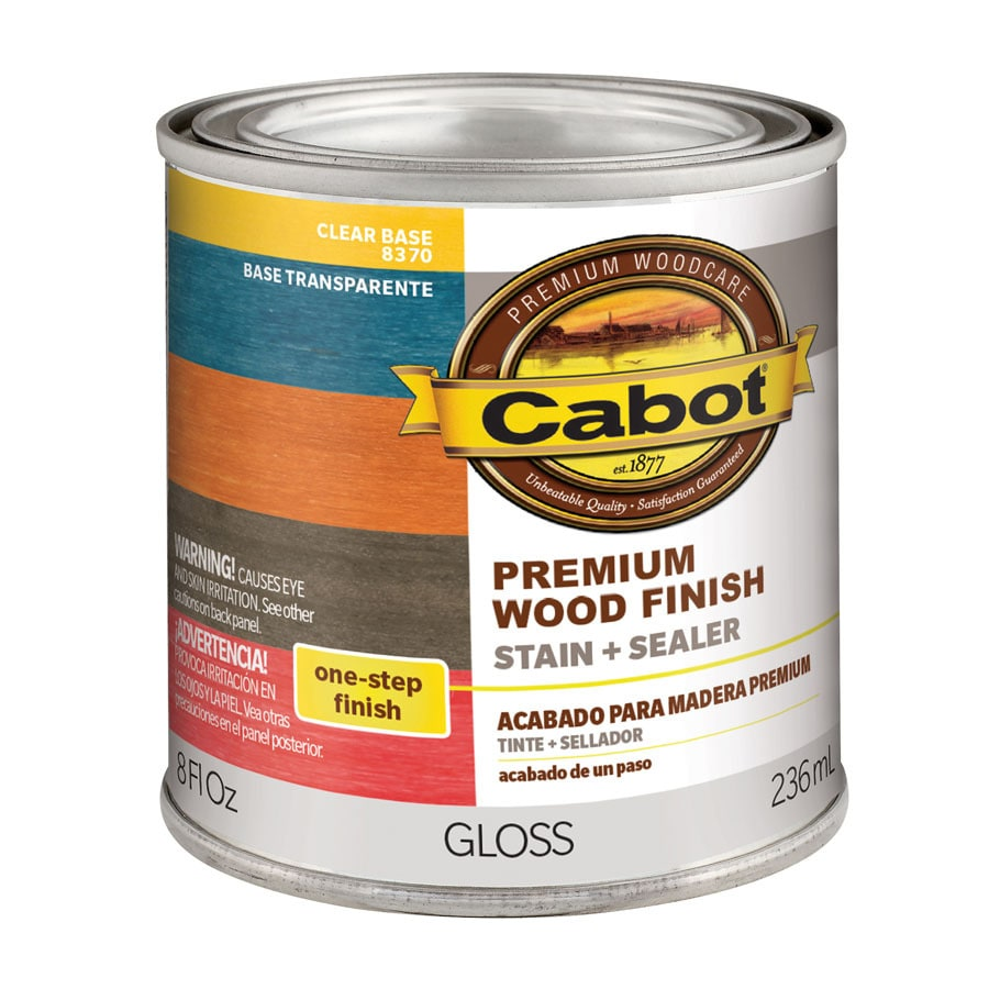 Cabot Tintable Clear Interior Stain (Actual Net Contents: 8-fl oz)