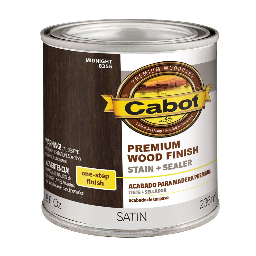 Cabot Midnight Interior Stain (Actual Net Contents: 8-fl oz)