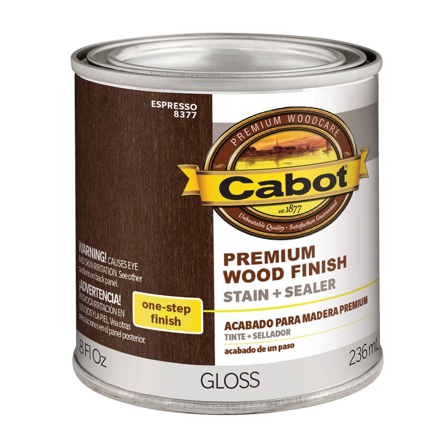 Shop Cabot Espresso Interior Stain Actual Net Contents 8 Fl Oz At