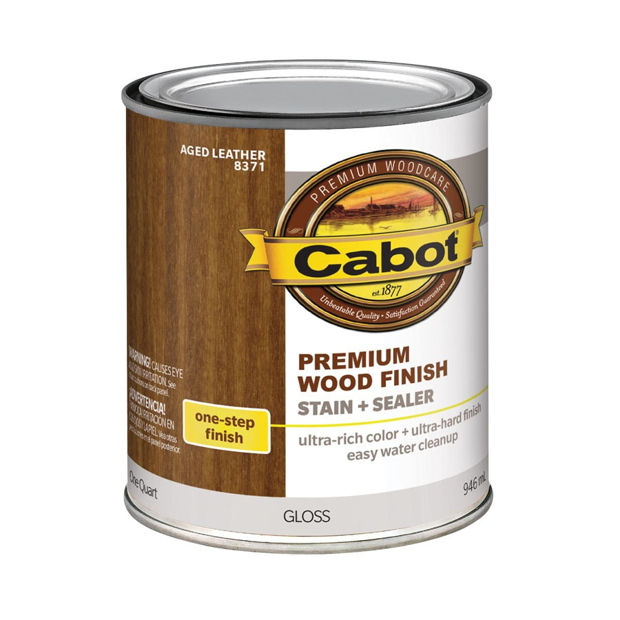 Cabot Aged Leather Interior Stain (Actual Net Contents: 32-fl oz)