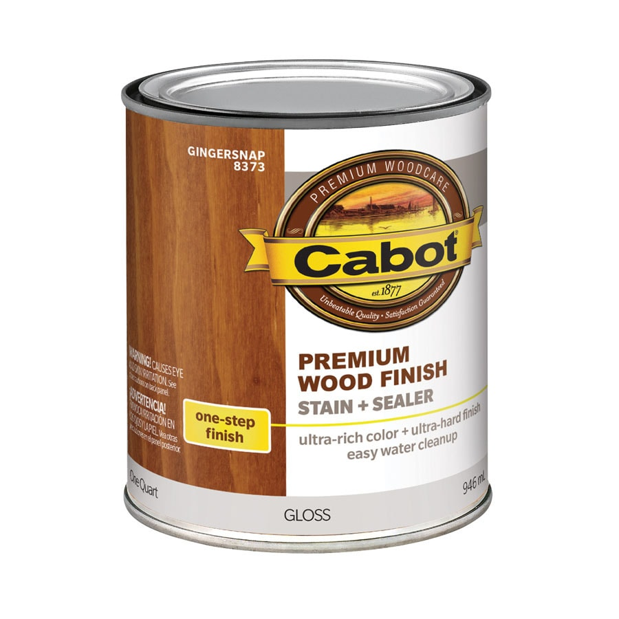Shop Cabot Gingersnap Interior Stain Actual Net Contents 32 Fl Oz At