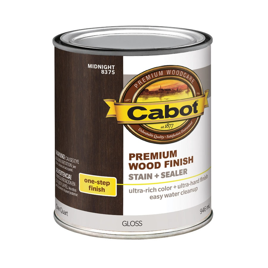 Cabot Midnight Interior Stain (Actual Net Contents: 32-fl oz)