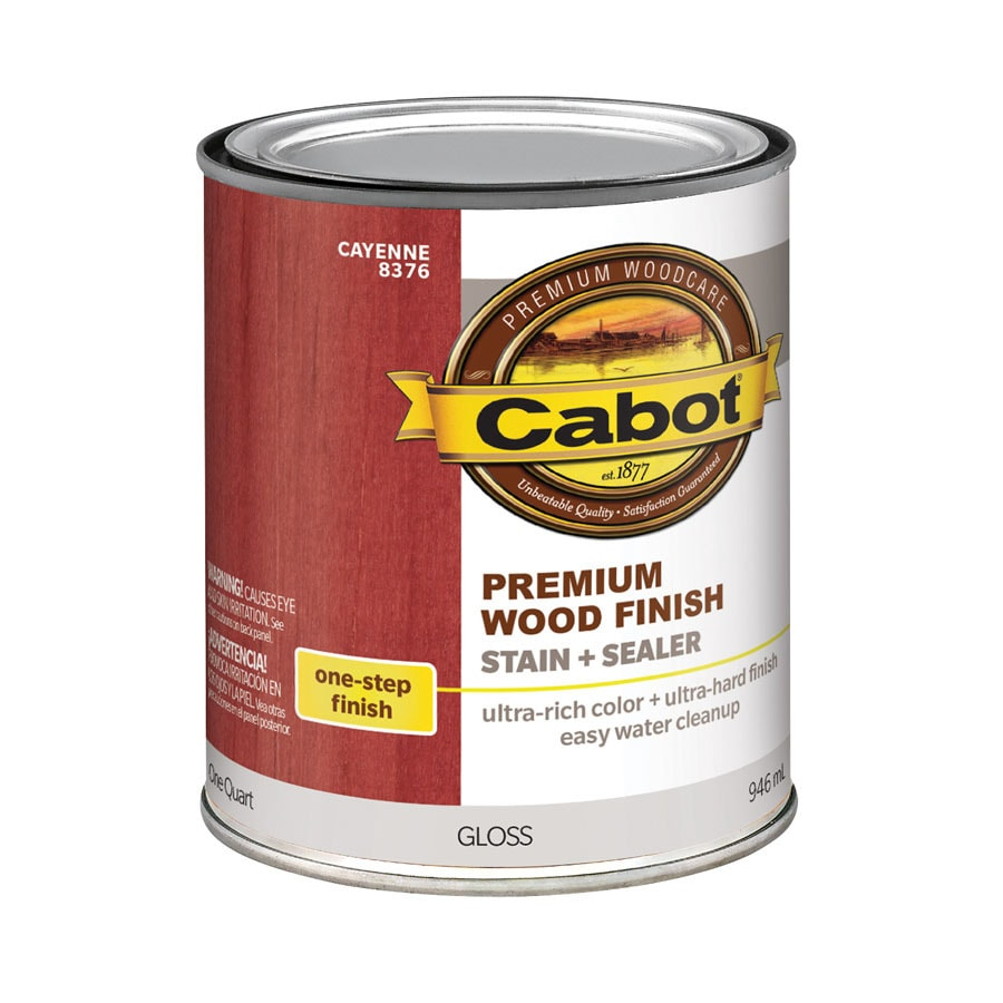 Cabot Cayenne Interior Stain (Actual Net Contents: 32-fl oz)