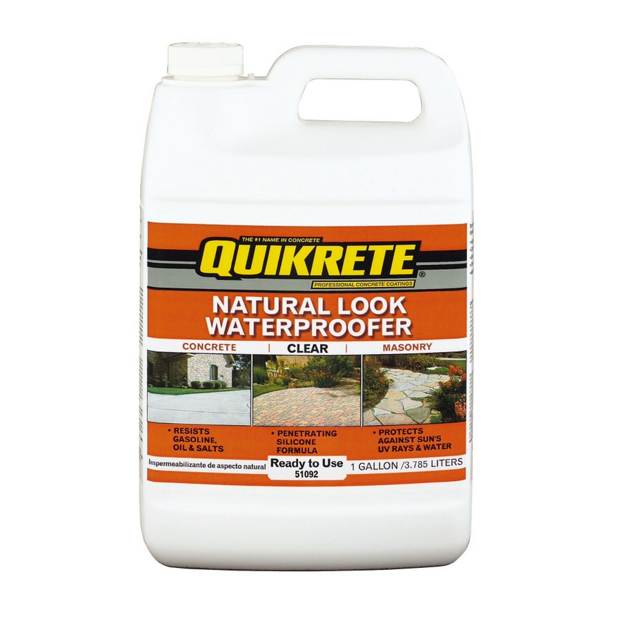 QUIKRETE 5-Gallon Natural-Look Clear Waterproofer