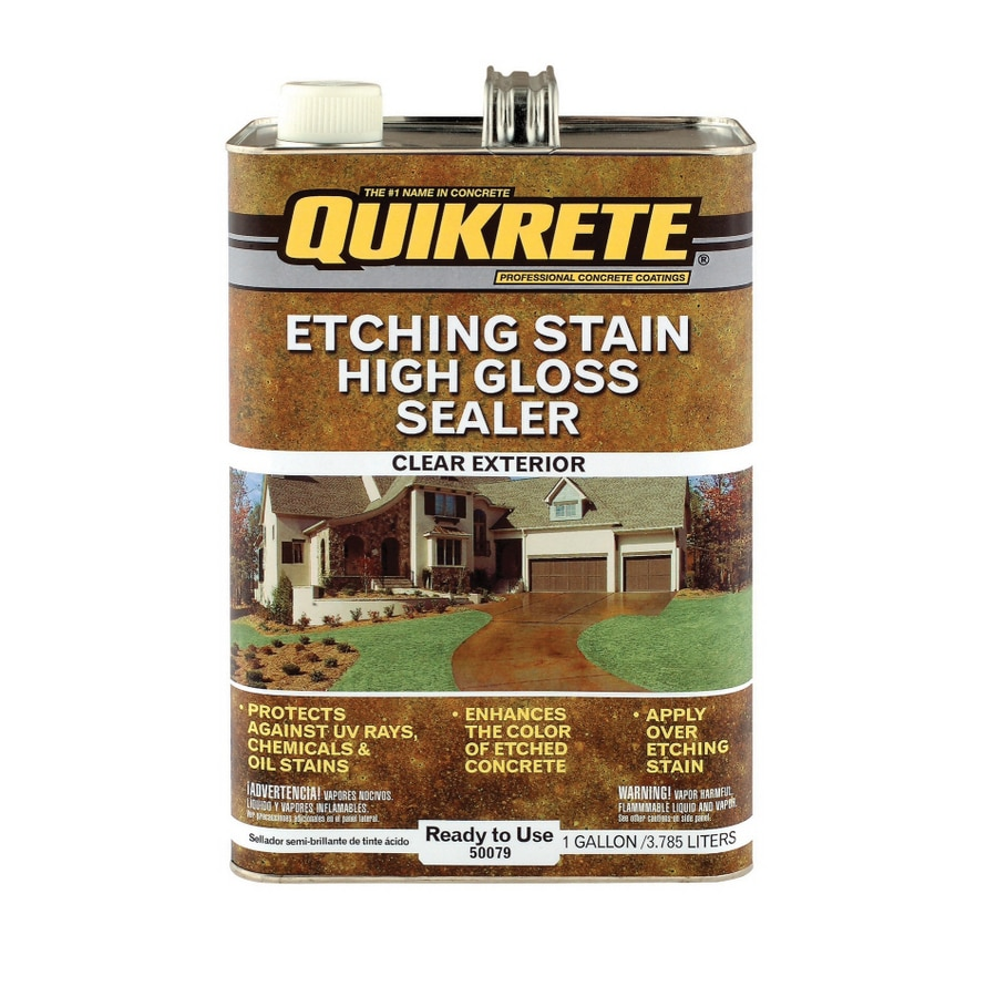 QUIKRETE Gallon Etching Stain Sealer