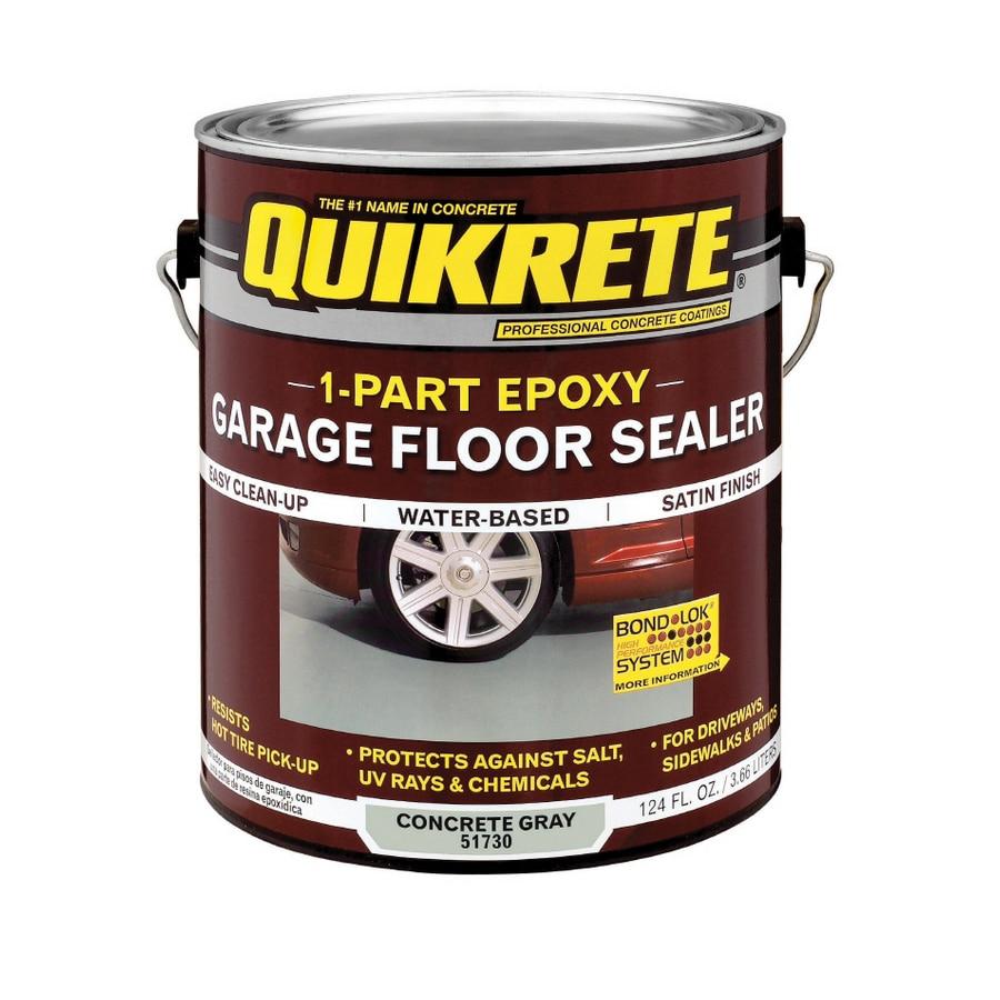 One Part Epoxy : Shop quikrete gallon water based part epoxy concrete