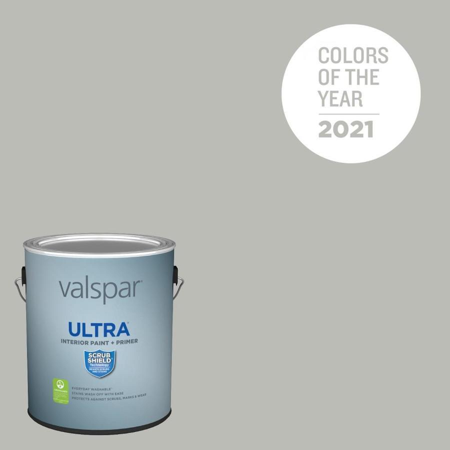 Valspar Ultra Eggshell Granite Dust 5006 1c Interior Paint 1 Gallon In The Interior Paint Department At Lowes Com