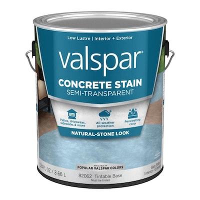 Valspar Tintable Base Semi-Transparent Concrete Stain (Gallon)