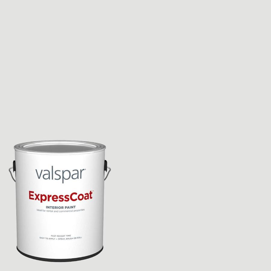 Valspar Pro Expresscoat Flat Silver Dust 7004 19 Interior Paint 1 Gallon In The Interior Paint Department At Lowes Com