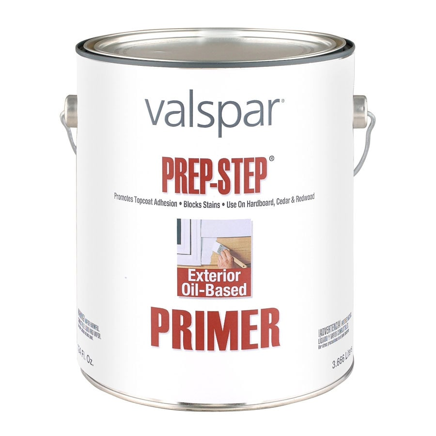 Valspar Prep Step Exterior Oil Primer (Actual Net Contents: 128-fl oz)