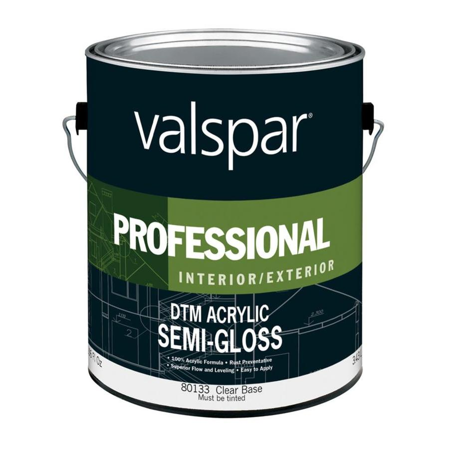Valspar Direct To Metal Semi Gloss Accent Base Latex