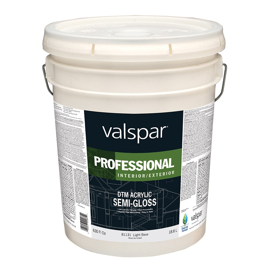Shop Valspar Direct To Metal White Semi Gloss Latex