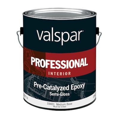 Valspar Semi Gloss Pre Catalyzed Epoxy Medium Base Latex