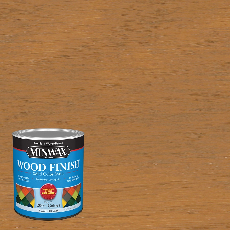 Minwax Wood Finish Water Based Cherrywood Mw1175 Interior Stain 1 Quart In The Interior Stains Department At Lowes Com