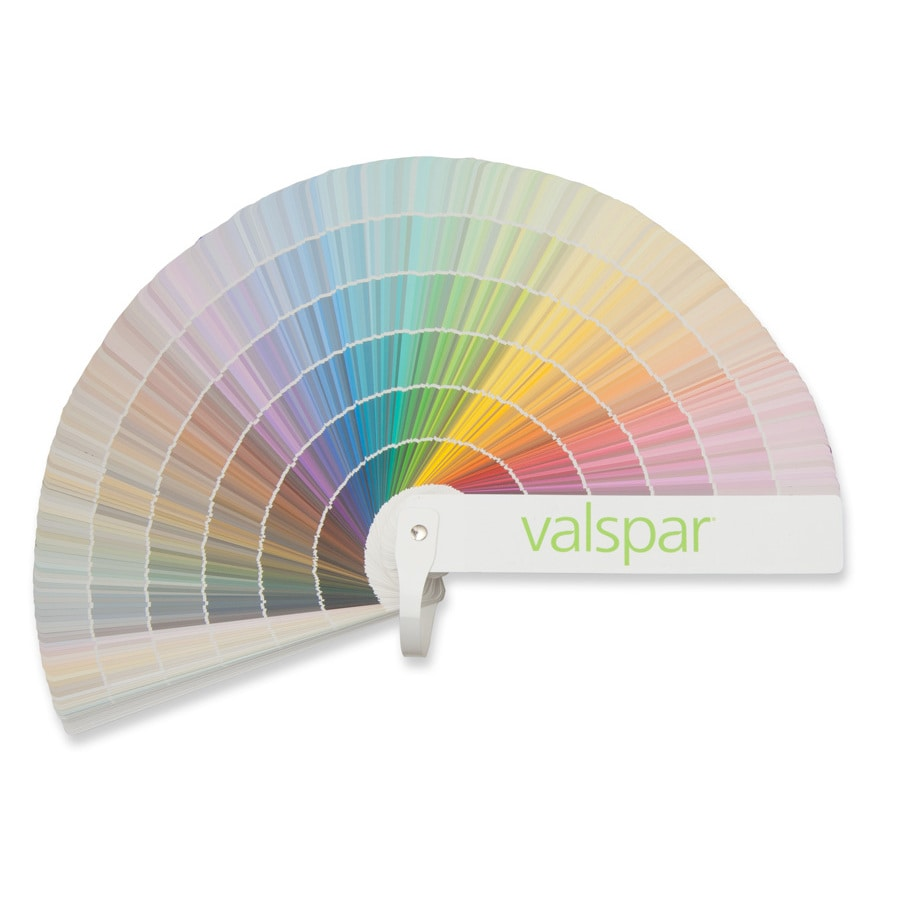Valspar 1750-Color Paint Fan Deck