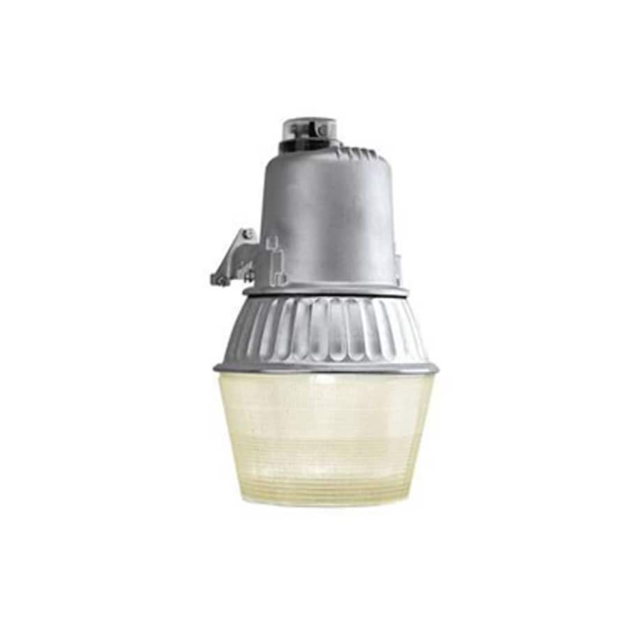 Utilitech 1-Head 70-Watt Gray High-Pressure Sodium Dusk-To-Dawn Flood Light