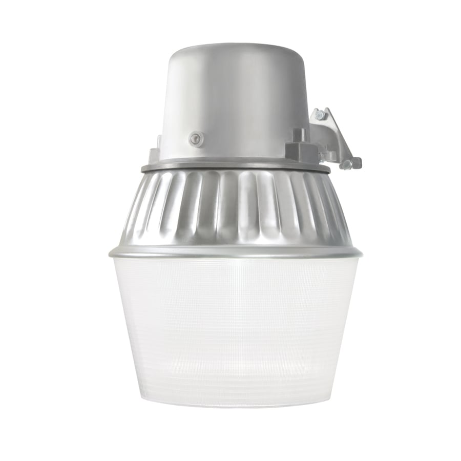 Shop dusk to dawn flood lights at lowes utilitech 1 head gray fluorescent dusk to dawn flood light aloadofball Images