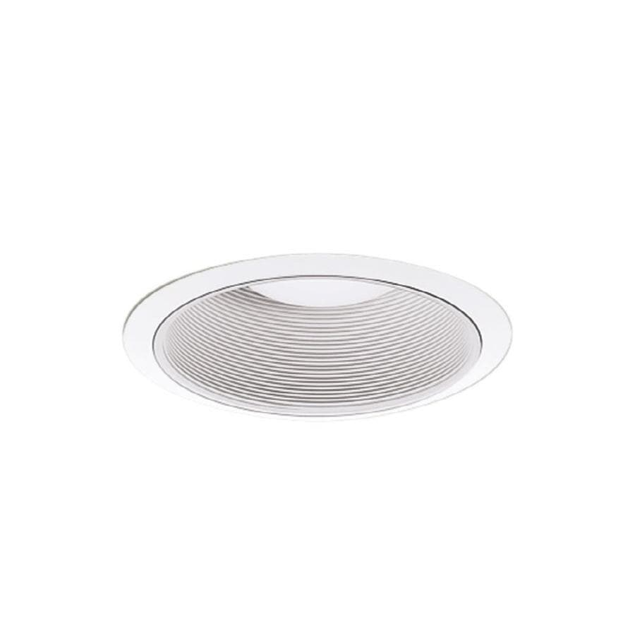 Halo Coilex Satin White Baffle Recessed Light Trim (Fits Housing Diameter: 6-in)