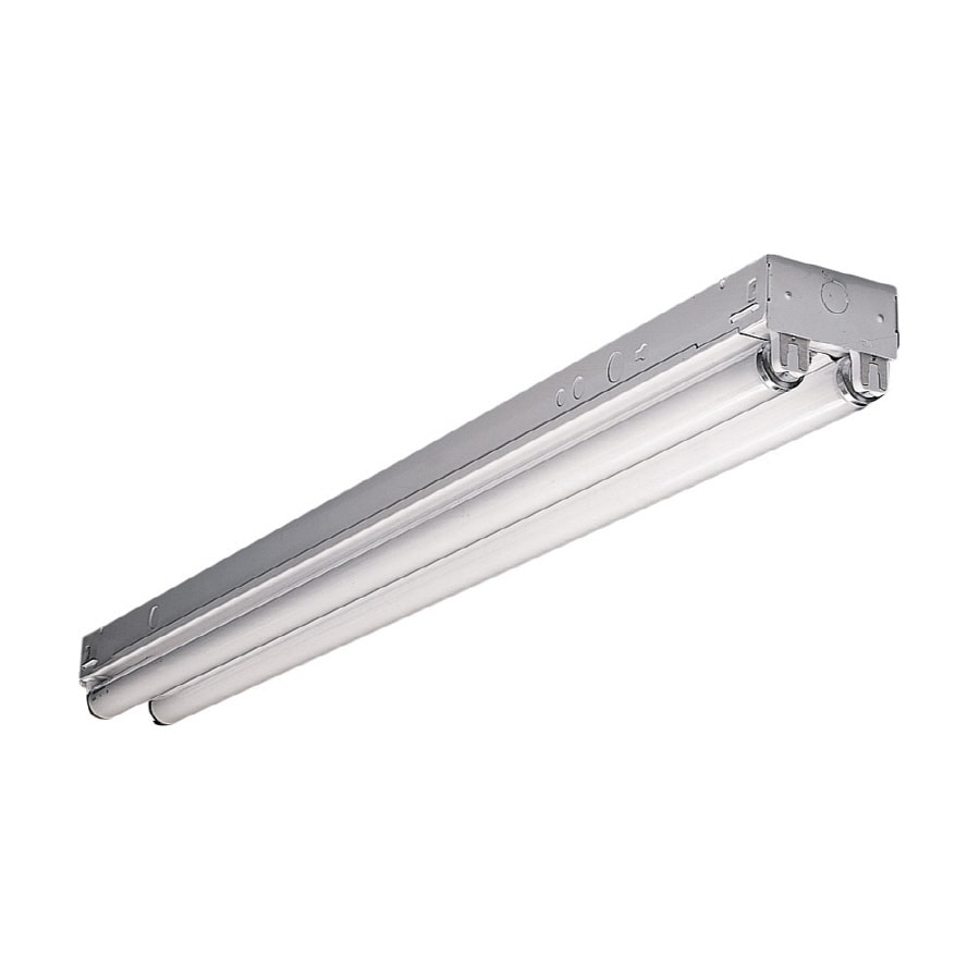 Shop shop lights at lowes metalux ssf series strip shop light common 4 ft actual 425 arubaitofo Choice Image