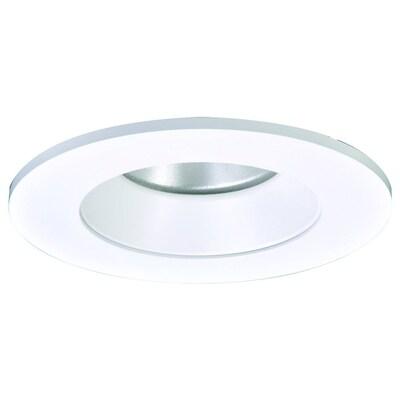 Cooper Lighting Led Trim 4 In White Baffle Recessed