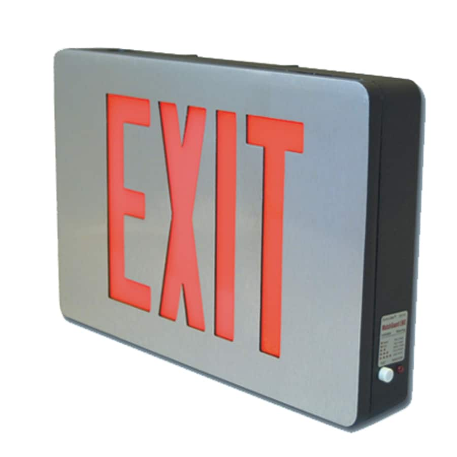 Sure-Lites Red/Green LED Hardwired Exit Light