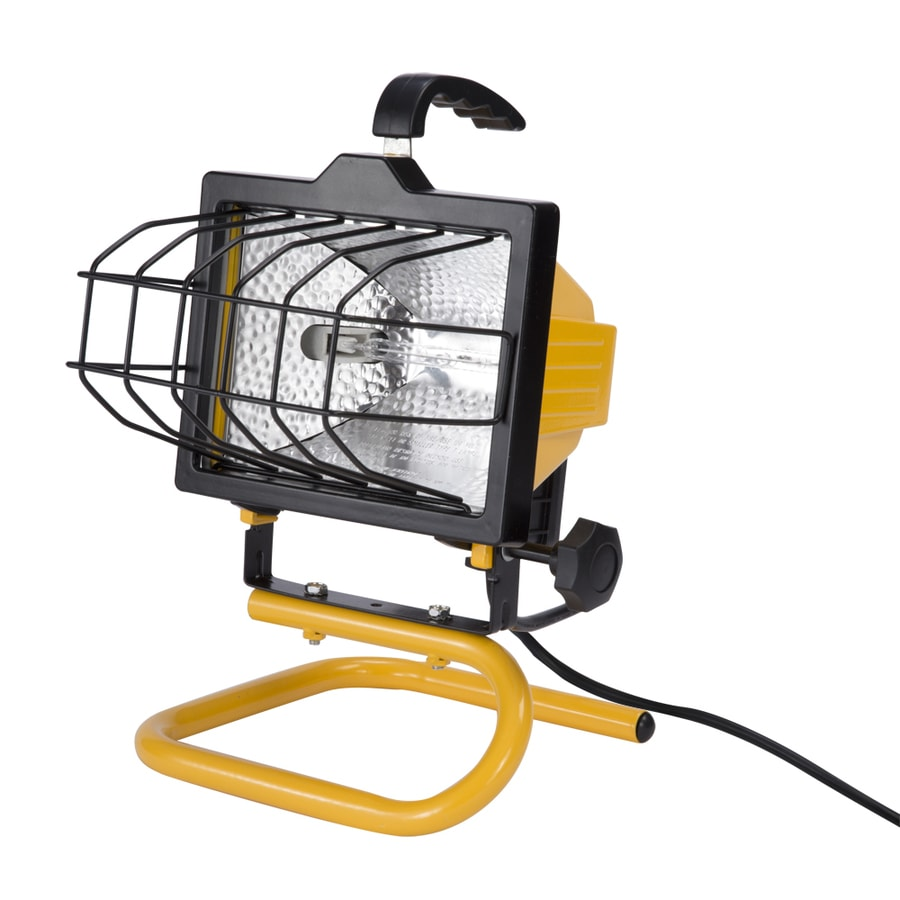 Craftsman 500 Watt Halogen Worklight: Shop Utilitech 1-Light 500-Watt Halogen Portable Work