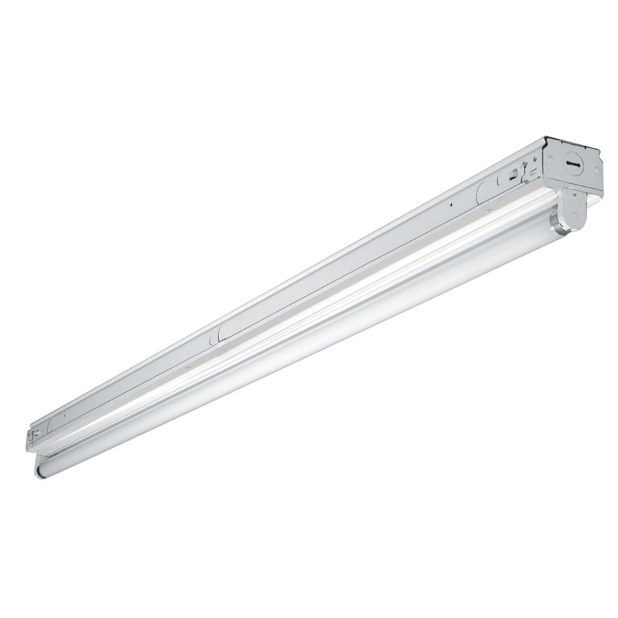 Shop shop lights at lowes metalux snf series strip shop light common 4 ft actual 275 arubaitofo Gallery