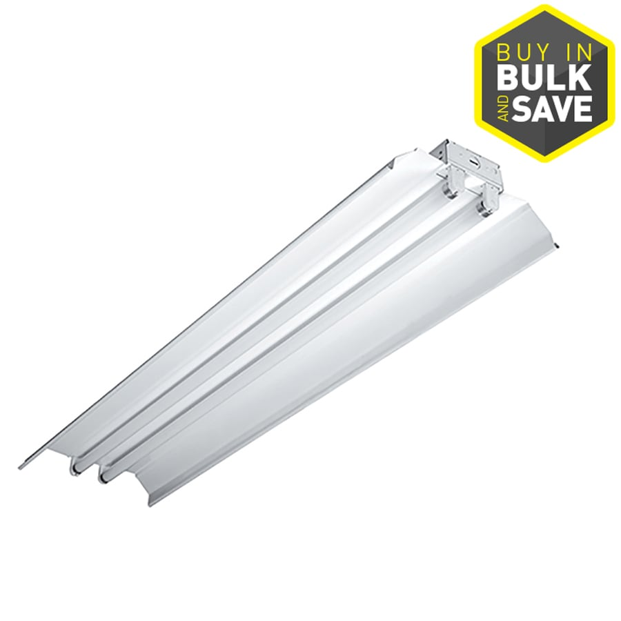 Metalux ICF Series Low Bay Shop Light (Common: 4-ft; Actual: 12-in x 48-in)