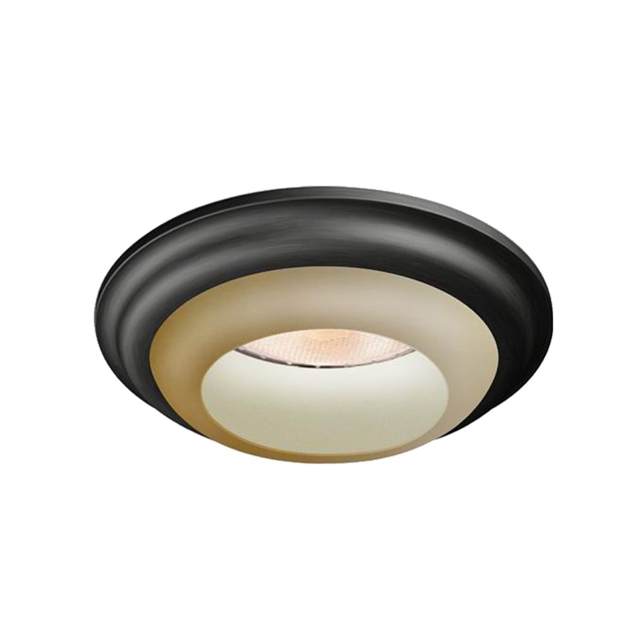 Utilitech Tuscan Bronze Baffle Recessed Light Trim (Fits Housing Diameter: 6-in)