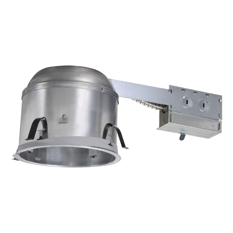 halo remodel airtight ic shallow recessed light housing common 6in actual