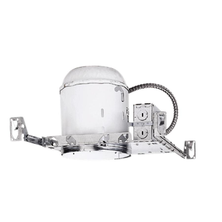 Halo New Construction Non-IC Recessed Light Housing (Common: 6-in; Actual: 6.5-in)