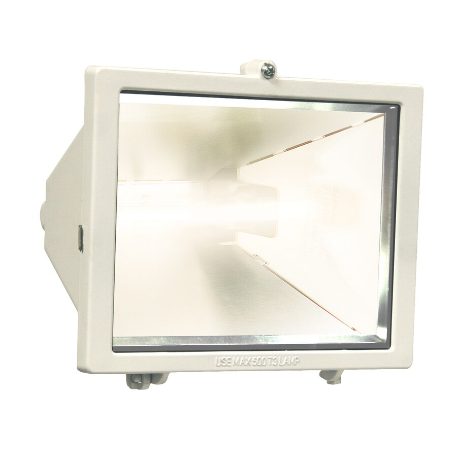Utilitech 9-in 1-Head Halogen White Switch-Controlled Flood Light