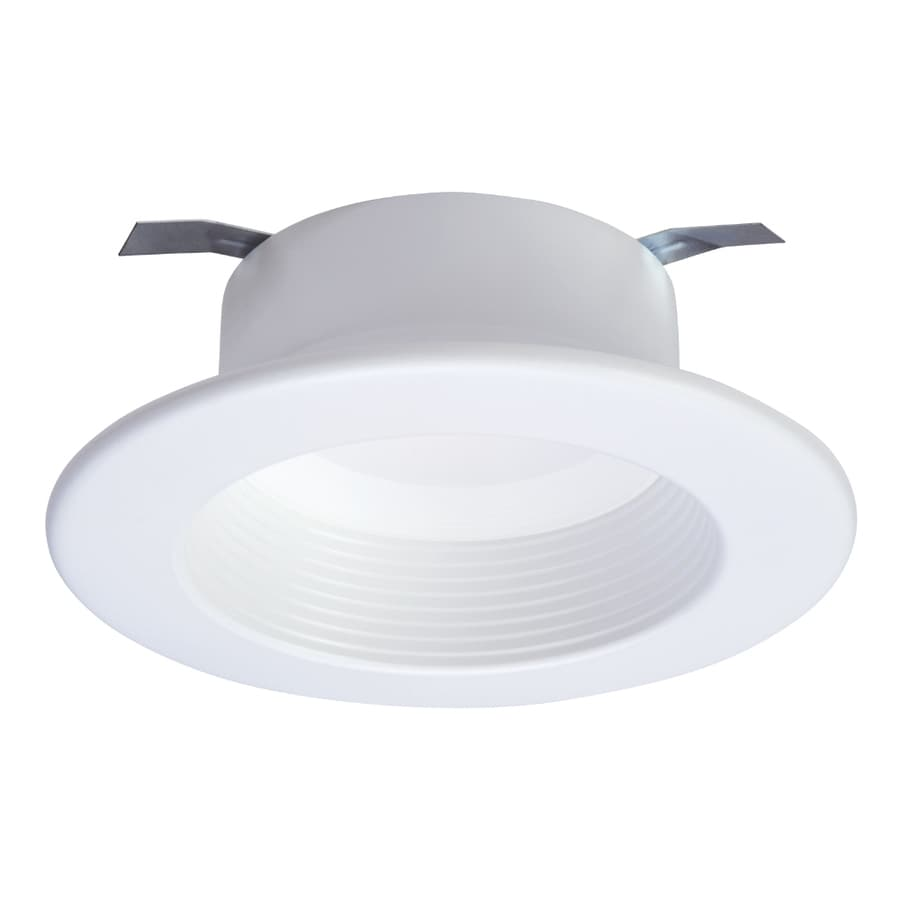 halo 60 watt equivalent white dimmable led recessed retrofit downlight