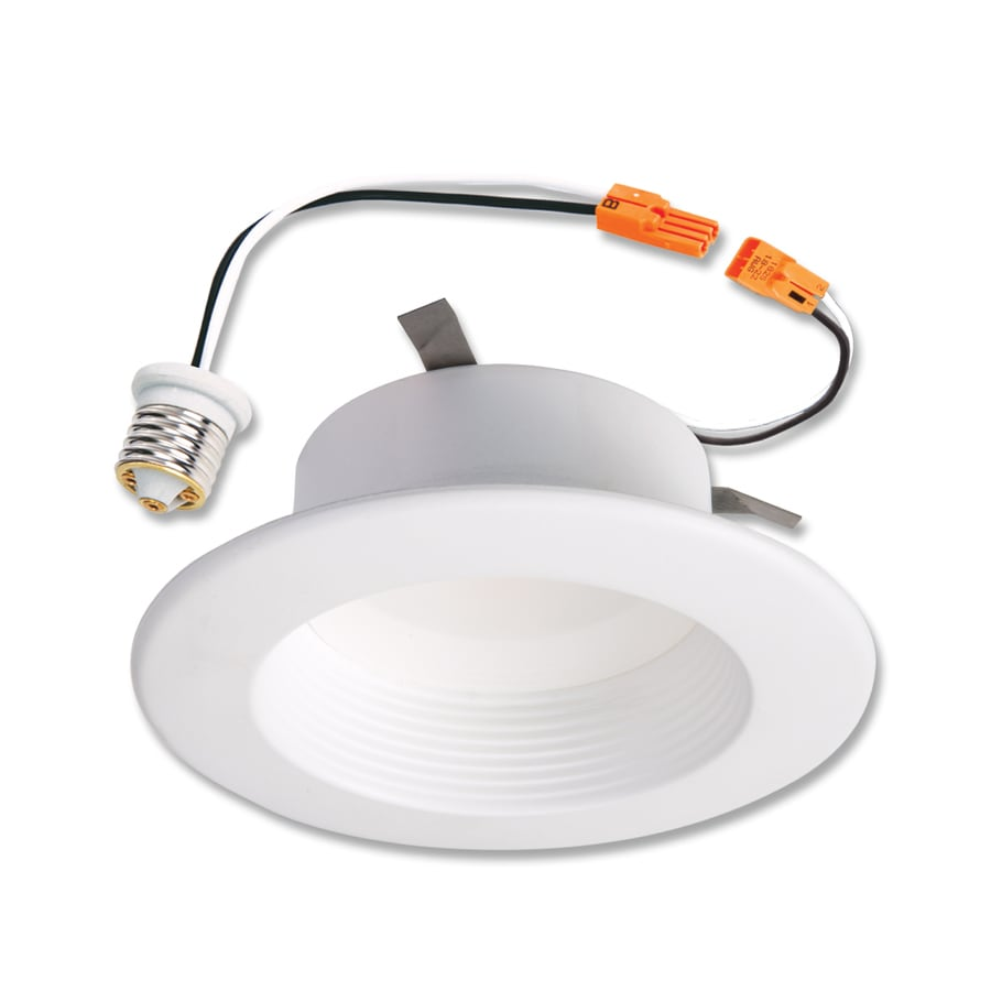925b950c206 Halo 60-Watt Equivalent White Dimmable LED Recessed Retrofit Downlight (Fits  Housing Diameter  4-in)