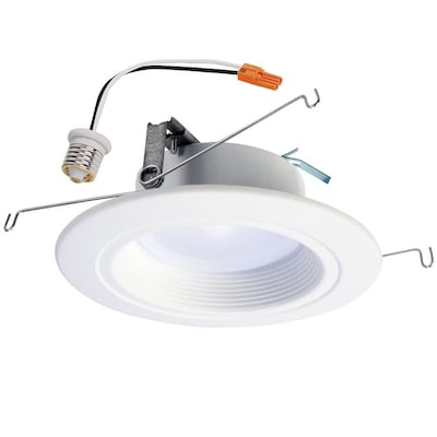 65 Watt Equivalent White Dimmable Recessed Downlight 5 In Or 6