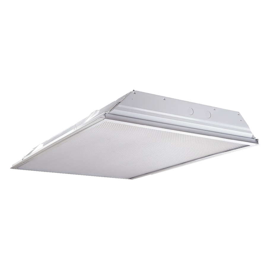 Shop Metalux Led Troffer Actual 48 In X 24 5 In X 3 3 In