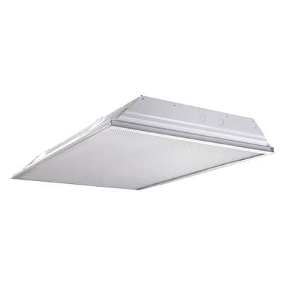 Metalux LED Troffer (Actual: 48-in x 24 5-in x 3 3-in) at