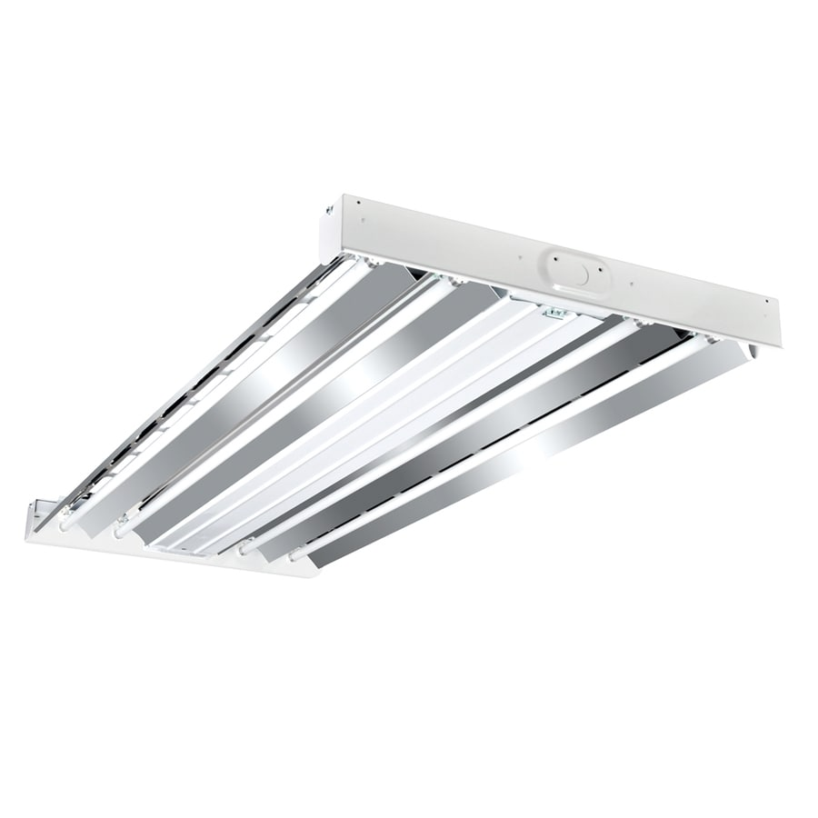 Shop work shop lights at lowes metalux hbl series high bay shop light common 4 ft actual arubaitofo Images