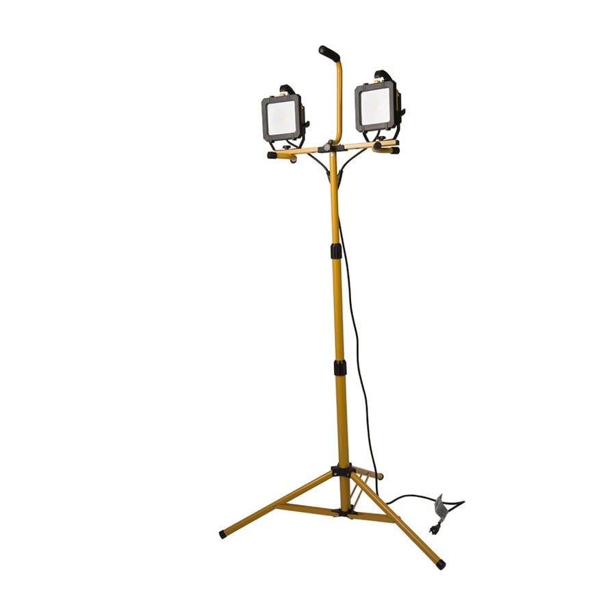 All-Pro 2-Light 66-Watt LED Stand Work Light