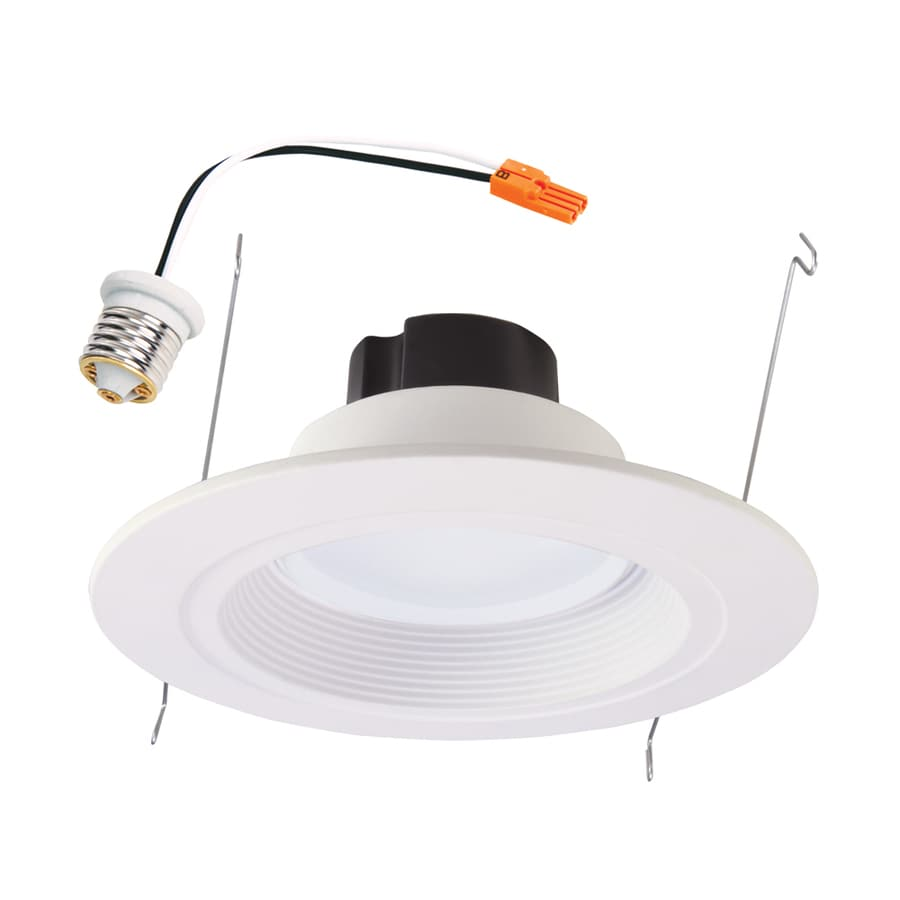 shop halo 65 watt equivalent white dimmable led recessed. Black Bedroom Furniture Sets. Home Design Ideas