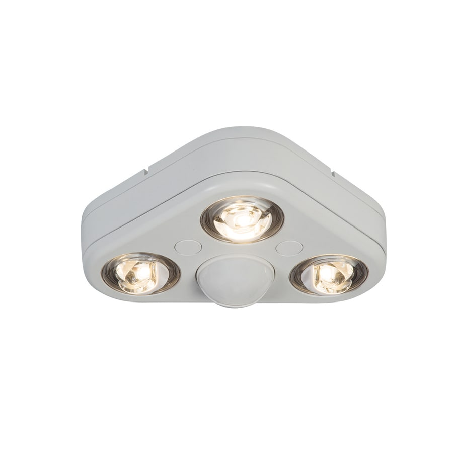 Shop All Pro 270 Degree 3 Head White Led Motion Activated