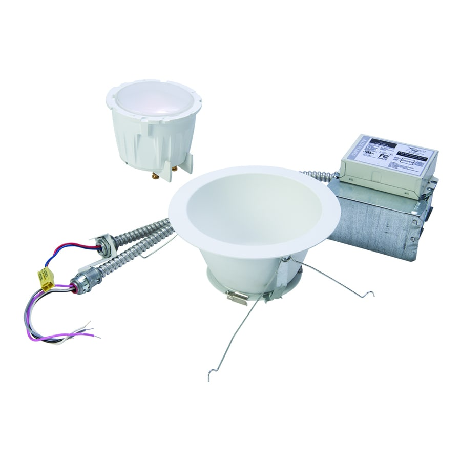 Halo Commercial Remodel Non-IC LED Recessed Light Housing (Common: 6-in; Actual: 7.25-in)