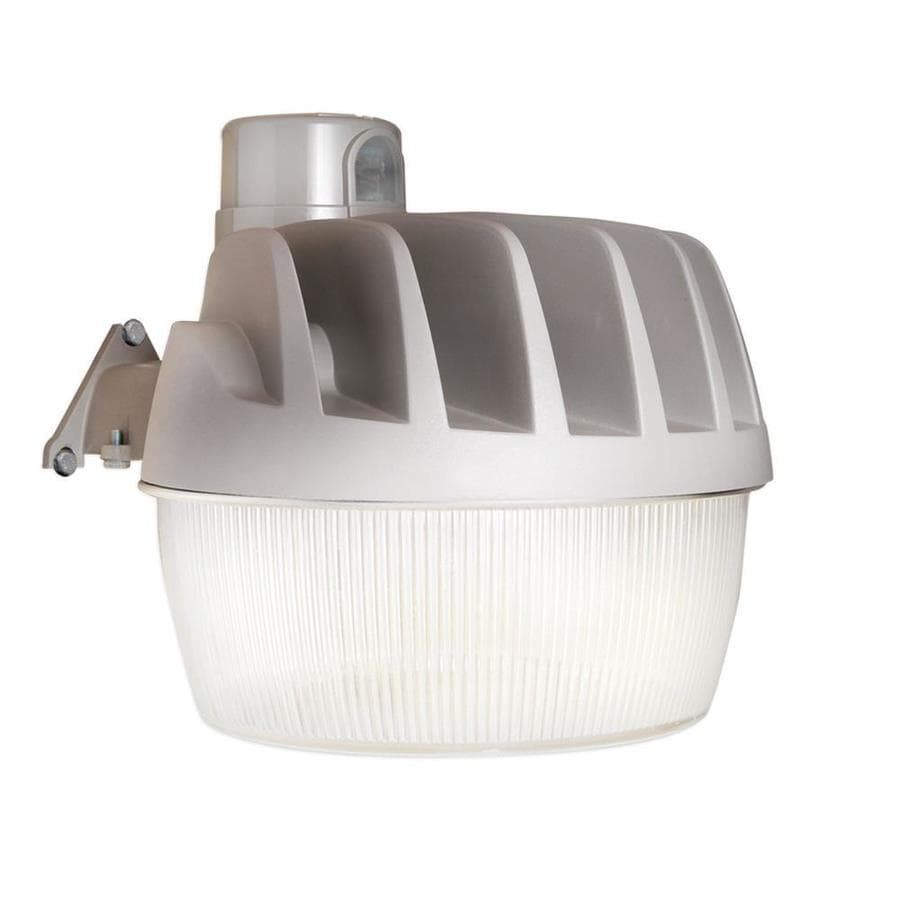 Dusk To Dawn Light At Lowes: All-Pro 1-Head Gray LED Area Light At Lowes.com