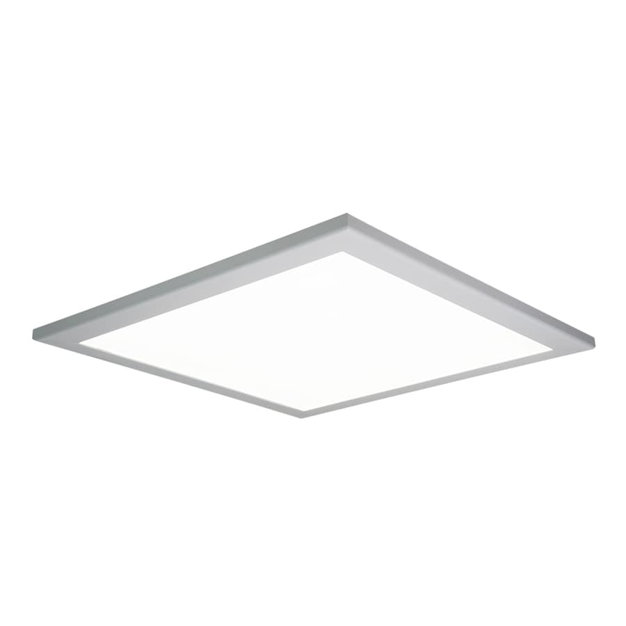 Metalux Flat Panel Led Troffer Actual 24 In X 1